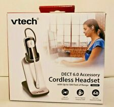 VTech IS6200 DECT 6.0 Cordless Headset and Charger Corded/Cordless