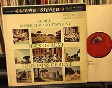 REINER Chicago RESPIGHI PINES / FOUNTAINS OF ROME LIVING STEREO LSC-2436 16S/16S
