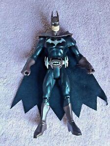 """Mattel 2003 Battle Armor Batman 6.5"""" Action Figure Toy Rubber Cloth Cape"""