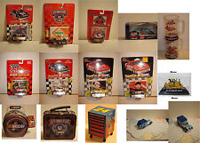 Lot of 10 Die-Cast 1:64 NASCAR Racing Champions  &  Miscellany.