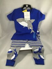 Carter's 24m Size Sleepwear 3 Piece Snug Fit Cotton Pajamas Set For Toddler Boys