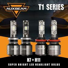 AUXBEAM H7+H11 Canbus Error Free LED Headlight Temperature Control High Low Beam