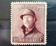 Belgium COB/OBP 178 * MH - Roi casqué / Albert I met helm - cote 170 euro