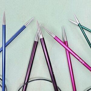 Knit Pro Zing Fixed Circular Knitting Needles, 2mm-12mm, 40cm-120cm