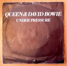 "Queen & David Bowie - Under Pressure  Vinyl7""Single - B sd Soul Brother EMI 5250"