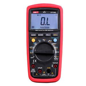 UNI-T UT139C True RMS Digital Multimeter Messgerät Amperemeter Voltmeter QW1X