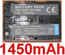 Batterie 1450mAh type NP-FM30 NP-FM50 NP-FM51 Pour Sony Cyber-shot DSC-F717