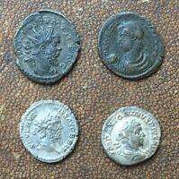 Lot de monnaies romaines argent et bronze - Silver and bronze Roman coins lot