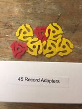 45 Record Adapters (7 in package)