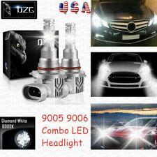 9005 9006 Cree Led Headlight H10 Fog Kits Bulb 6000k White High Low Beam