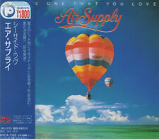 AIR SUPPLY The One That You Love RARE JAPAN CD OBI BVCA-7362 Russell Hitchcock