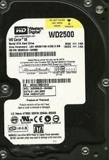 WESTERN DIGITAL 250GB WD2500JD-50HBB0 DCM: HSBHCTJAH