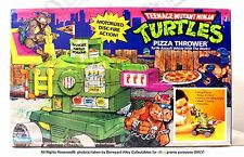 TMNT ORIGINAL 1989 PIZZA THROWER VEHICLE, Playmates MISB*MEGA RARE*NEW