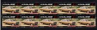 1967 FORD FALCON XR GT STRIP OF 10 MINT AUTO VIGNETTE STAMPS 2