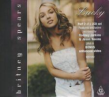 Britney Spears Lucky cd 6 track rare australian