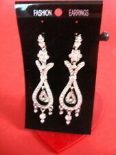 Screw Back (pierced) Chandelier Costume Earrings