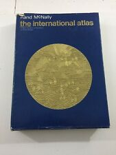 The International Atlas - Rand Mcally (Hardcover, Dust Jacket, 1969)