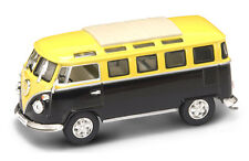 Volkswagen VW Microbus 1962 Yellow / Black 1:43 Model 43209Y YAT MING