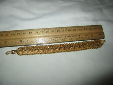 """24K Yellow Solid Gold Bracelet One of A Kind 7"""" L - 5/8 W / 48.7 Grams"""