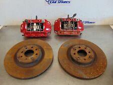 Alfa Romeo Mito 1.4T 07-14 Pair Front Caliper + carriers brembo 4 pot conversion