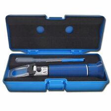 Agtec Portable Refractometer Low Range With Copper Atc 0 10 Brix
