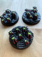 Necrons 3 Scarabs New Indomitus sculpts Well painted and Based