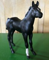 ROYAL DOULTON HORSE FOAL BLACK BEAUTY BLACK MATT FINISH MODEL No DA 66 VGC