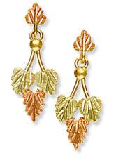 Landstrom's® 10K Black Hills Gold Traditional Leaves Earrings