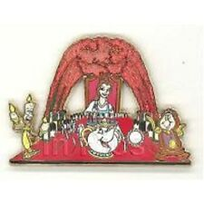 Beauty & the Beast DisneyShopping.com Dance Series Belle & Friends LE 250 pin