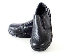 17140 Hytest Women's EH Opanka Safety Shoes - Black leather Size 6.5W