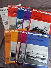 10 Issues Air Cushion Vehicles, Hovercraft 1969-1971