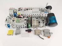 Konvolut Elektromaterial Sicherungen FI-Schalter Relais Schalter Leitungsschutz