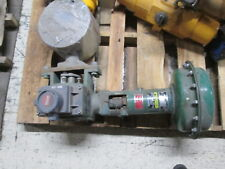Fisher Diaphragm Control Valve w/ Positioner 1052/V-500 Used