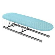 FOLDING MINI SMALL TABLE TOP IRONING BOARD SLEEVES COLLAR CUFF PLEATS CORNERS BL