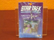1991 Star Trek Next Generation Tv Hologram Keyring Klingon Kor-Warbird Ship Mip