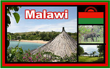 MALAWI (SOUTHEAST AFRICA) - SOUVENIR NOVELTY FRIDGE MAGNET - BRAND NEW - GIFT