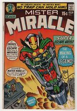 Mister Miracle #1 nice 1st appearance 1971 DC Jack Kirby art create-a-lot & save