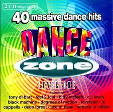 DANCE ZONE LEVEL 1 - 2 X CDS 90S OLDSKOOL HOUSE CHART DANCE KISSTORY CDJ CD DJ
