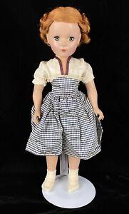 """Vintage Madame Alexander Doll 17"""" Inch Margaret Hard Plastic"""