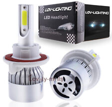 H13 9008 LED Headlight Bulb Conversion Kit 6000k for Ford F150 04-14 Hi/Low Beam