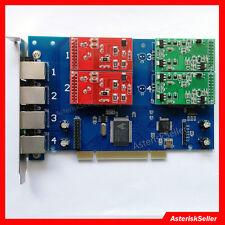 Scheda Asterisk FXS FXO Scheda TDM410P 4 FXO FXS asterisk Card tdm400p VoIP PBX