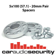 Hubcentric Wheel PCD Adapters 5x100 (57.1) M14 20mm Pair Wheel Spacers