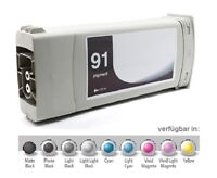 Tinte für HP Designjet Z6100 PS / Nr. 91 C9470A Light CYAN Pigment Ink Cartridge