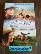 COFFRET RODEO PRINCESS 1 & 2 I II LA VICTOIRE AU GALOP L'ETE DE DAKOTA DVD VF