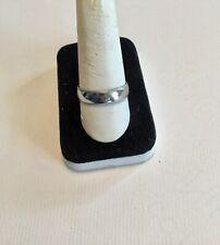 WIDE PLATINUM MENS BAND RING, 6mm, Sz, 10.75, milgrain