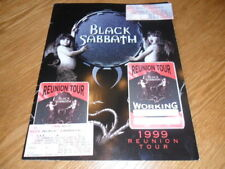 BLACK SABBATH /OZZY OSBOURNE REUNION TOUR BOOK PROGRAM PASS