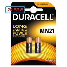PILA MN21 DURACELL 12V 20 PILE Alcaline Telecomandi A23 V23GA 3LR50 Scade 2020