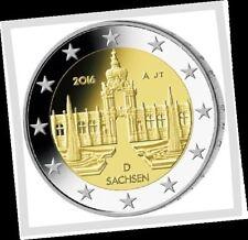 2 EURO *** Allemagne 2016 Duitsland *** Dresdner Zwinger - Sachsen *** ADFGJ !!!