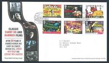 29154) UK - GREAT BRITAIN 2008 FDC Classic on Hammer films
