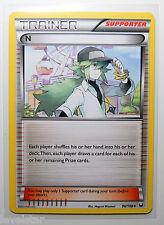 N 96/108 BW Dark Explorers DEX Pokemon Trainer Supporter Card